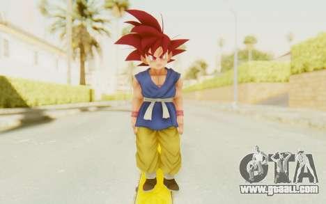 Dragon Ball Xenoverse Goku Kid GT SSG for GTA San Andreas second screenshot