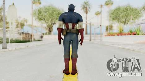 Captain America Super Soldier Classic for GTA San Andreas third screenshot