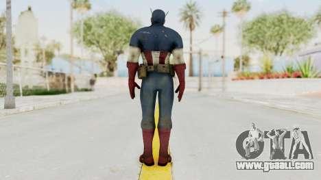 Captain America Super Soldier Classic for GTA San Andreas third screenshot
