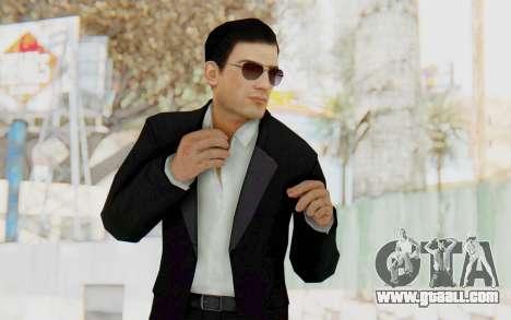 Mafia 2 - Vito Scaletta Madman Suit B&W for GTA San Andreas