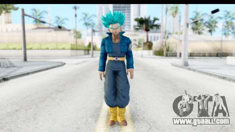 Dragon Ball Xenoverse Future Trunks SSGSS for GTA San Andreas second screenshot