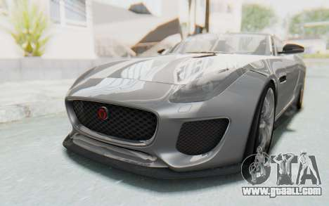 Jaguar F-Type Project 7 for GTA San Andreas