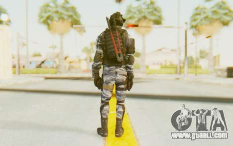 Federation Elite SMG Urban-Navy for GTA San Andreas third screenshot