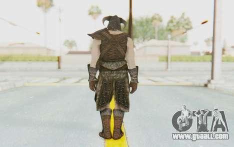 Skyrim - Dovahkiin for GTA San Andreas third screenshot