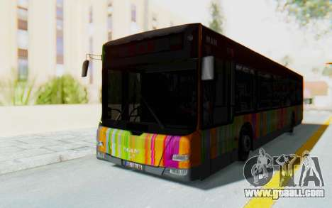 MAN Lion City 23267 for GTA San Andreas back left view