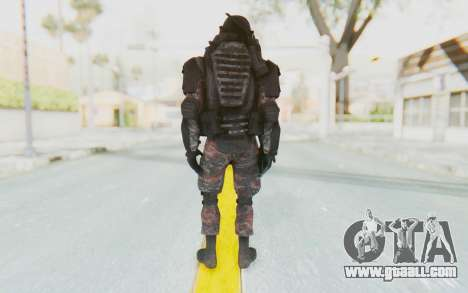 COD MW2 Russian Paratrooper v3 for GTA San Andreas third screenshot