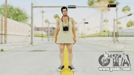 Dead Rising 2 Off The Record Frank West Dress for GTA San Andreas second screenshot