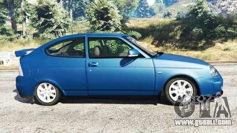 GTA 5 Lada Priora Sport Coupe v0.1 left side view