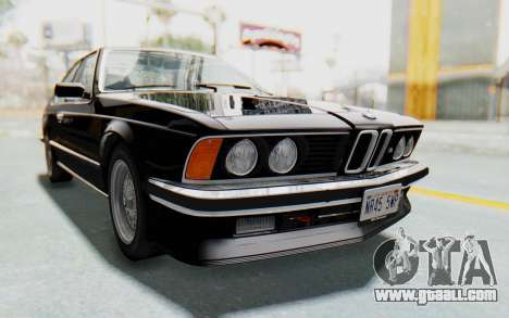 BMW M635 CSi (E24) 1984 IVF PJ3 for GTA San Andreas right view