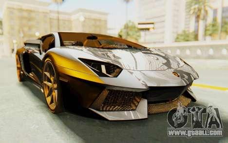 Lamborghini Aventador LP700-4 Light Tune for GTA San Andreas right view