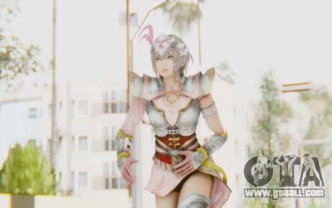 Dynasty Warriors 8 - Lu Lingqi v2 for GTA San Andreas