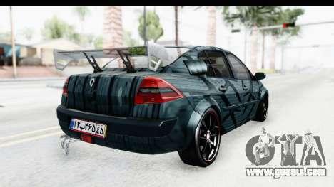 Renault Megane Sport for GTA San Andreas left view