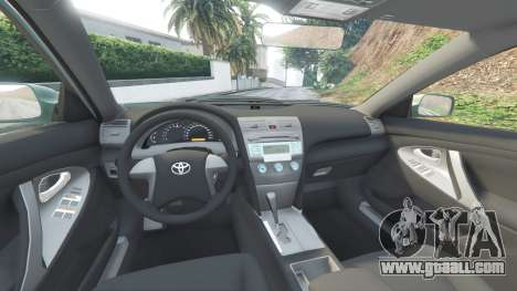 Toyota Camry V40 2008 [tuning] for GTA 5
