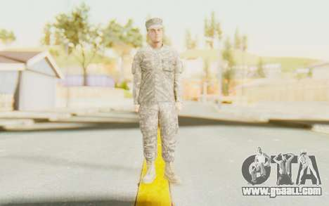 Military Casual Outfit for GTA San Andreas second screenshot