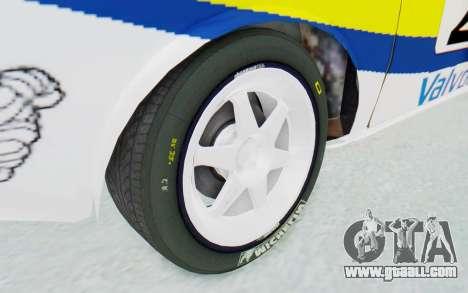Dacia 1300 Rally for GTA San Andreas back view