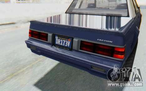 GTA 5 Willard Faction Custom Donk v3 IVF for GTA San Andreas upper view