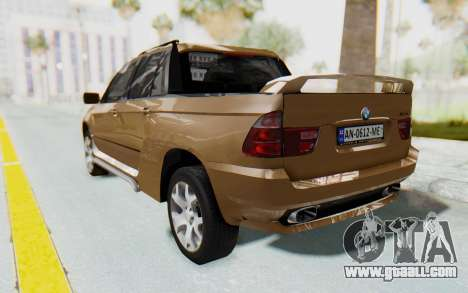 BMW X5 Pickup for GTA San Andreas left view