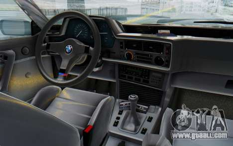 BMW M635 CSi (E24) 1984 IVF PJ3 for GTA San Andreas inner view