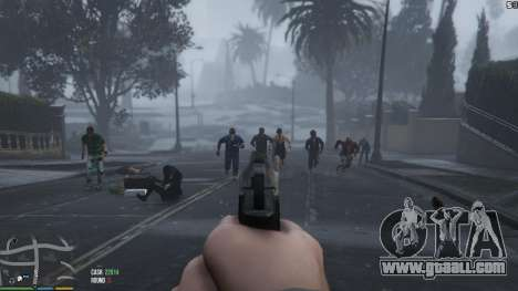 Zombies 1 4 2a for GTA 5