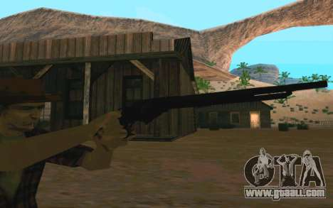 Winchester Model 1887 for GTA San Andreas forth screenshot