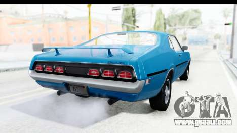 Mercury Cyclone Spoiler 1970 for GTA San Andreas left view