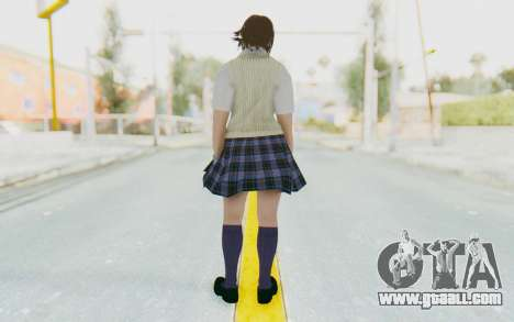 Asuka Kazama (School) for GTA San Andreas third screenshot