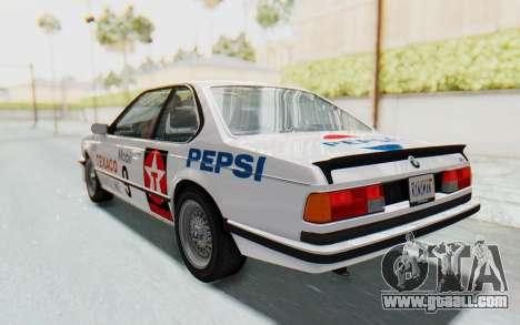 BMW M635 CSi (E24) 1984 IVF PJ2 for GTA San Andreas engine
