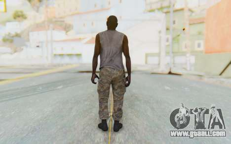 CoD MW3 Africa Militia v5 for GTA San Andreas third screenshot