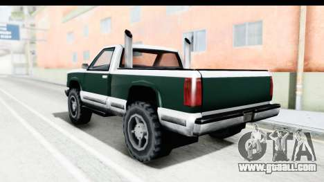 Yosemite Truck for GTA San Andreas left view