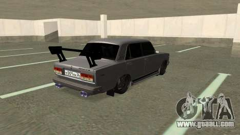 VAZ 2107 Drift for GTA San Andreas back left view