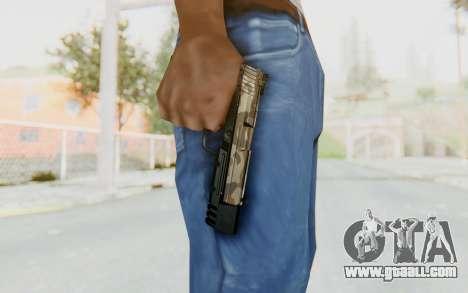 HK USP 45 Army for GTA San Andreas third screenshot