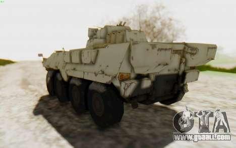 MGSV Phantom Pain STOUT IFV APC Tank v2 for GTA San Andreas right view