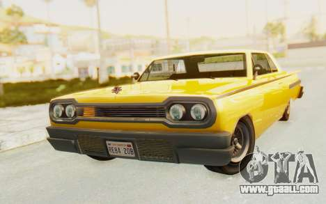 GTA 5 Declasse Voodoo PJ SA Lights for GTA San Andreas