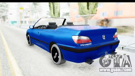 Peugeot 406 Cabrio Beta 0.8.3 for GTA San Andreas left view