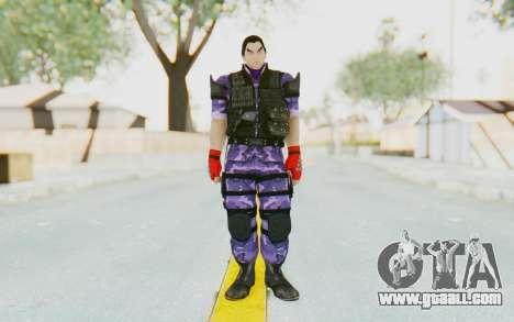 Kazuya Mishima (Ops Suit) for GTA San Andreas second screenshot