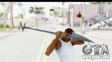 Lord Zedd Weapon for GTA San Andreas third screenshot