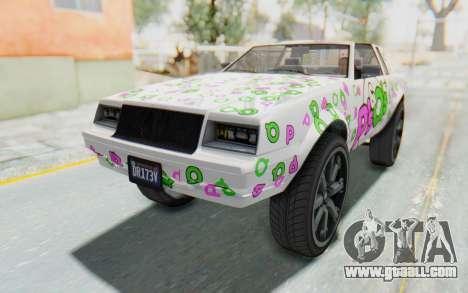 GTA 5 Willard Faction Custom Donk v2 for GTA San Andreas wheels