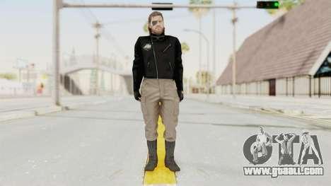 MGSV Phantom Pain BIG BOSS Leather Jacket for GTA San Andreas second screenshot