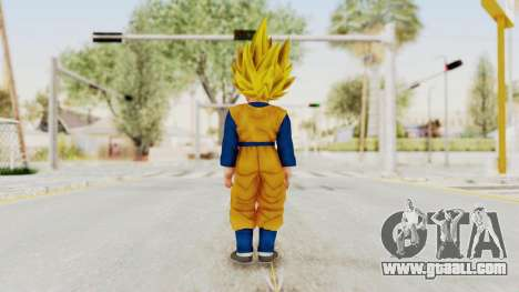 Dragon Ball Xenoverse Goten SSJ for GTA San Andreas third screenshot