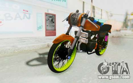 Honda CG125 Roadrace for GTA San Andreas