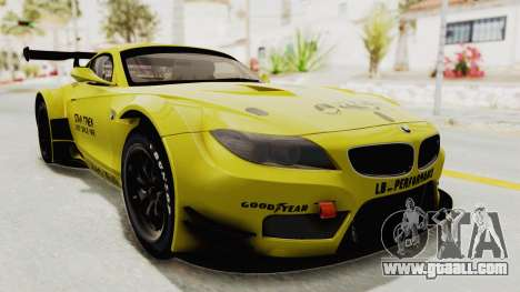 BMW Z4 Liberty Walk for GTA San Andreas right view