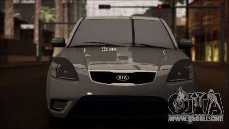 Kia Rio for GTA San Andreas upper view