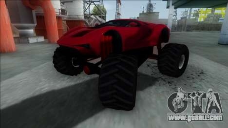 GTA V Vapid FMJ Monster Truck for GTA San Andreas