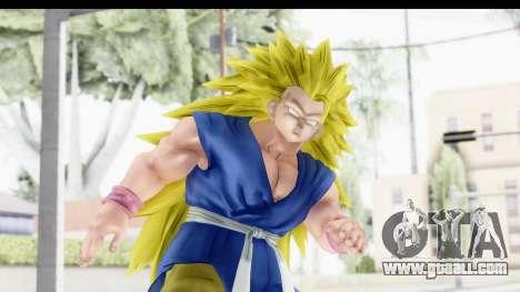 Dragon Ball Xenoverse Goku GT Adult SSJ3 for GTA San Andreas