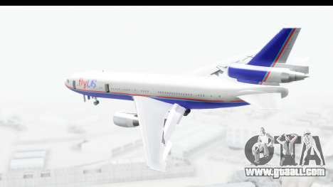 DC-10 Fly Us for GTA San Andreas left view