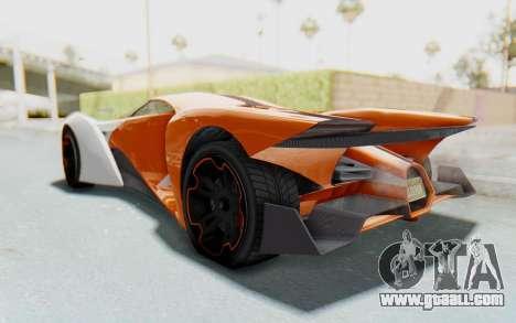 GTA 5 Grotti Prototipo v1 IVF for GTA San Andreas right view