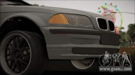BMW E46 for GTA San Andreas right view