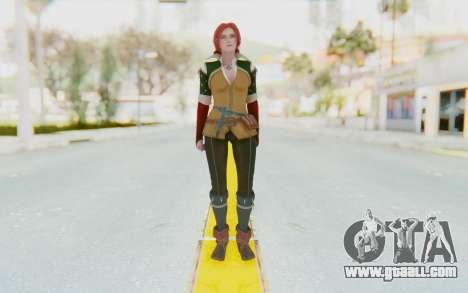 Triss Merigold for GTA San Andreas second screenshot