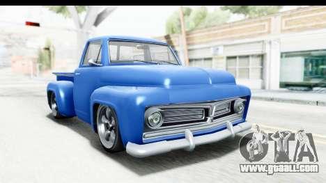 GTA 5 Vapid Slamvan without Hydro IVF for GTA San Andreas