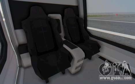 GTA 5 Buckingham Volatus v2 for GTA San Andreas back view